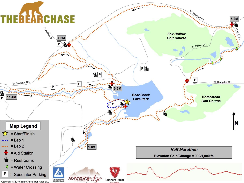 The Bear Chase Trail Race – 100k, 50 mile, 50k, Half